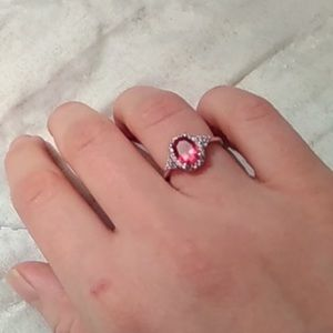 Jewelry - Ruby 925 sterling silver ring
